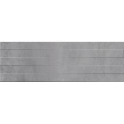 Concrete Stripes PS902 grey structure 29x89 sienų plytelė