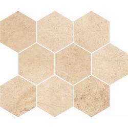 Sahara Desert beige Hexagon 28x33,7 mozaika