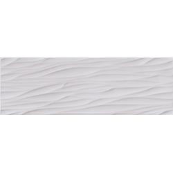 Structure Pattern white Wave Str. 25x75 sienų plytelė