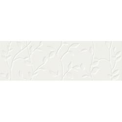 Winter Vine white structure 29x89 sienų plytelė