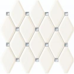 Abisso white 29,8x27 mozaika