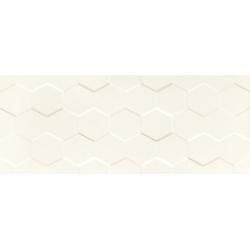 Elementary white Hex STR 29,8x74,8 sienų plytelė