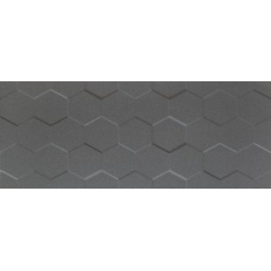 Elementary graphite Hex STR 29,8x74,8 sienų plytelė