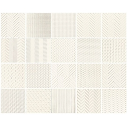 Elementary patch white STR 14,8x14,8 plytelė dekoratyvinė