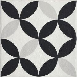 Modern Motyw E str 19,8x19,8 grindų plytelė
