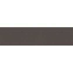 Industrio dark brown mat 119,8x29,6 pakopinė plytelė