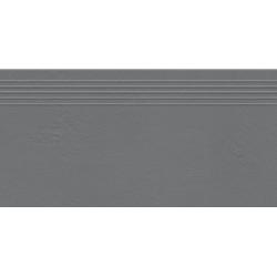 Industrio graphite mat 59,8x29,6 pakopinė plytelė