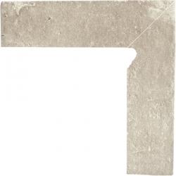 Scandiano beige grindjuostė dešinė 8x30 klinkier