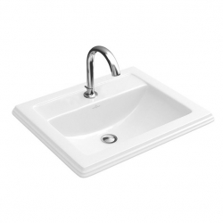Hommage praustuvas 63x52,5 Weiss Alpin Ceramic Plus 710263R1