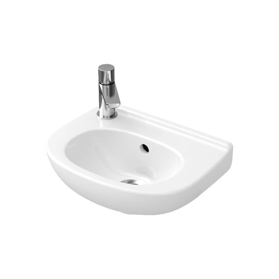 O.Novo praustuvas 36x27,5 Weiss Alpin Ceramic Plus 536039R1
