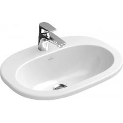 O.Novo praustuvas 56x40,5 Weiss Alpin Ceramic Plus 416156R1