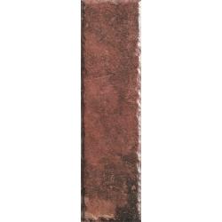 Scandiano Rosso Elewacja 24,5X6,6  klinkerinė plytelė