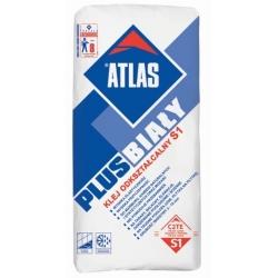 Plytelių klijai ATLAS PLUS balti, 25 kg