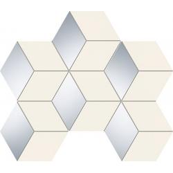 Senza white hex 289 x 221  mozaika