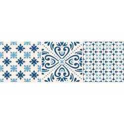 AVIGNON COBALT 2 448X148  dekoratyvinė plytelė