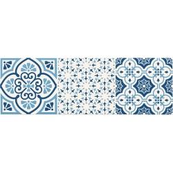AVIGNON COBALT 3 448X148  dekoratyvinė plytelė