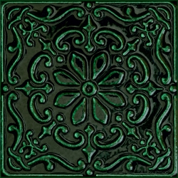 Tinta green-1 14,8x14,8 dekoratyvinė plytelė