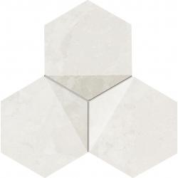Scoria  white 19,2x16,5  mozaika