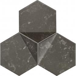 Scoria black 19,2x16,5  mozaika