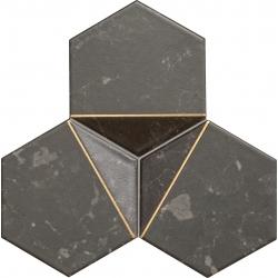 Scoria black 1 19,2x16,5  mozaika