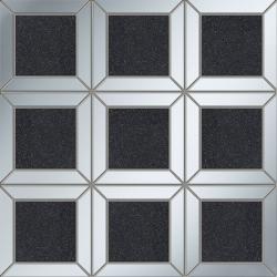 Lucid square black 29,8x29,8  mozaika
