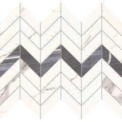 Bonella white 29,8x24,6 mozaika