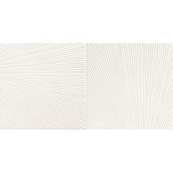 Bafia white 2 60,8 x 30,8  dekoratyvinė plytelė