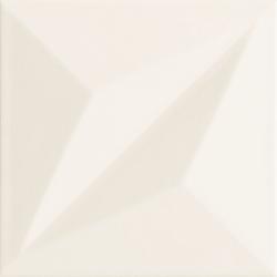 Colour white STR 1 14,8 x 14,8  sienų plytelė