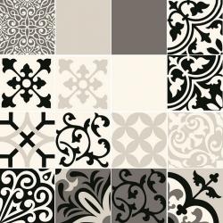 Beat of White Grey Patch A 59,8 х 59,8  dekoratyvinė plytelė
