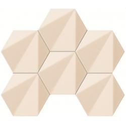 Beat of White hex 28,9 х 22,1  mozaika