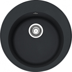 Plautuvė Ronda ROG 610-41 Fragranite onikso (juoda)