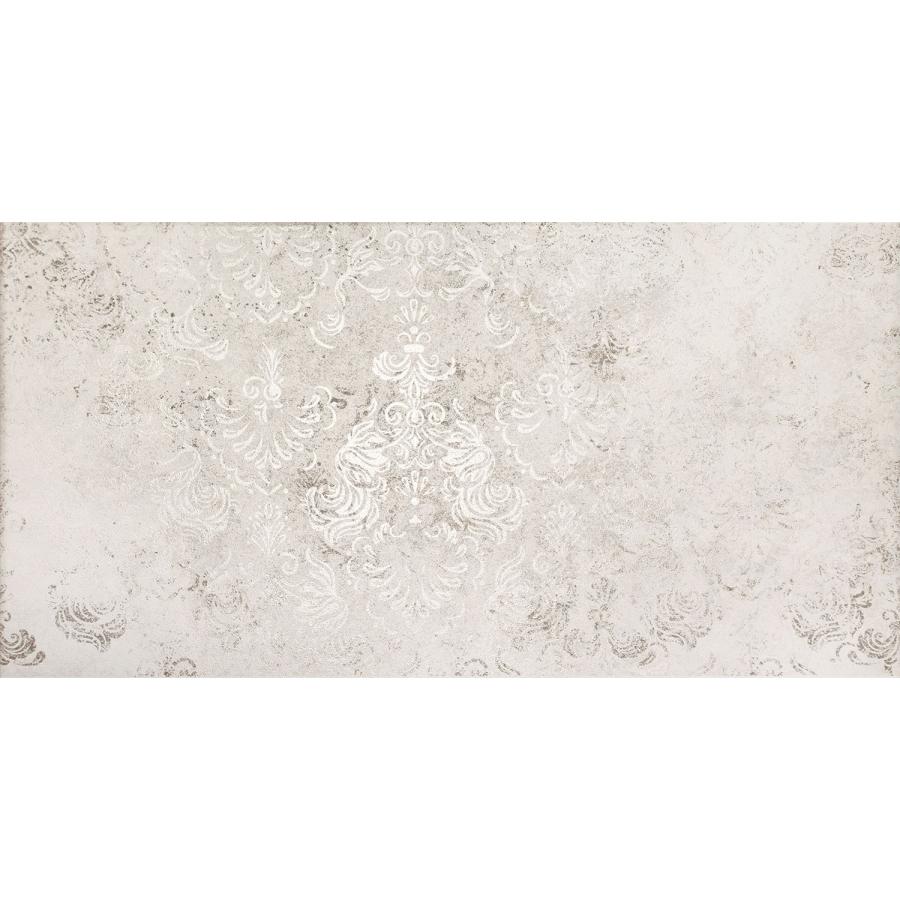 Neutral grey ornament 59,8 x 29,8  sienų plytelė