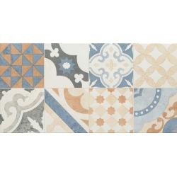 Neutral beige patchwork 59,8 x 29,8  sienų plytelė