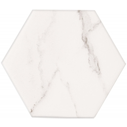 Vicenza white hex 12,5 x 11,0  sienų plytelė