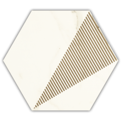CALACATTA HEXAGON C MATT 17,1x19,8  universali plytelė