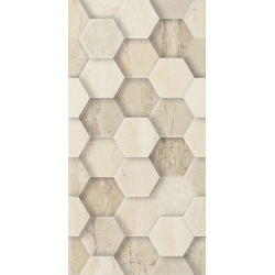 Sunlight Stone Beige  Dekor Geometryk 30x60  sienų plytelė