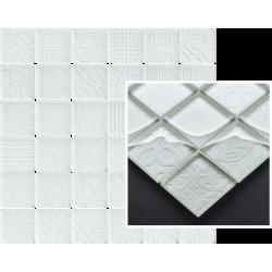 Tel Awiv Bianco Mozaika K.4,8X4,8 29,8x29,8 dekoratyvinė plytelė