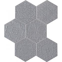 Lace graphite 28,9x22,1 mozaika
