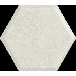 Woodskin Grys Heksagon Struktura A 19.8 x 17.1  sienų plytelė