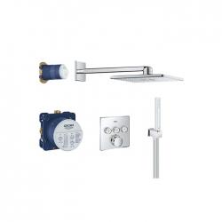 Potinkinis termostatinis dušo komplektas GROHE Grohtherm SmartControl 34706000