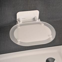 Sėdynė Chrome skaidri/balta