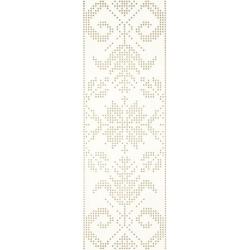 Caya Bianco Inserto A 25x75  dekoratyvinė plytelė