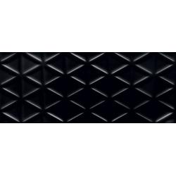 Senza geo black STR 29,8x74,8  sienų plytelė