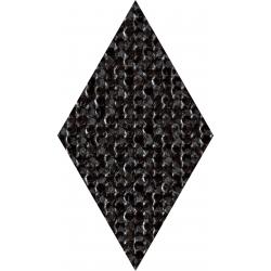 Coralle diamond black 11,2x9,6  sienų plytelė