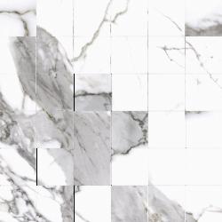 Calacatta white satyna 29,7X29,7  mozaika