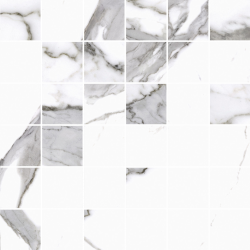 Calacatta white poler 29,7X29,7  mozaika