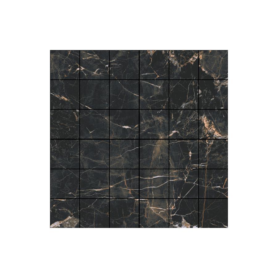 Marquina gold poler 29,7X29,7  mozaika