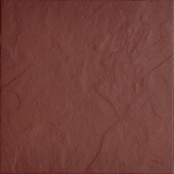 Burgund Rustik 30 x 30  klinkerinė plytelė