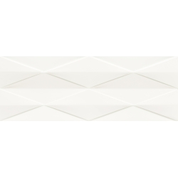 Tonara White  Satin Struktura A 32.8x89.8 sienų plytelė