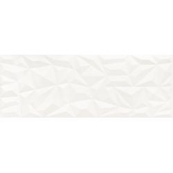 Tonara White  Satin Struktura B 32.8x89.8 sienų plytelė